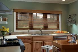 Kitchen Window Curtain Ideas Kitchen Window Treatment Ideas 3 Blind Mice Window Coverings