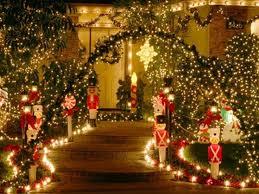 outdoor christmas decorating ideas design outdoor lighted christmas decorations home christmas