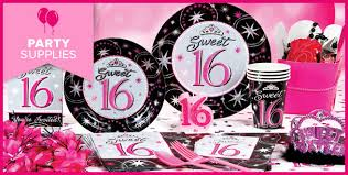 sweet 16 party supplies birthday party supplies birthday sweet 16 birthday sweet
