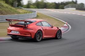 red porsche truck 2016 porsche 911 gt3 rs first drive review motor trend