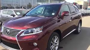 best used lexus suv 2015 lexus rx 350 awd review youtube