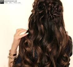 braided hairstyles with hair down spring flower braid half up half down hairstyle tutorial video