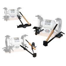 powertec 4 in 1 heavy duty bench grinder sharpening jig kit 71021