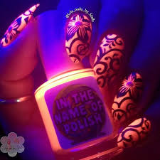 30 eye catching glow nail art designs new model decoration and