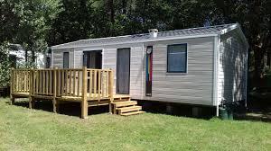 mobil home neuf 3 chambres location cing de kergo
