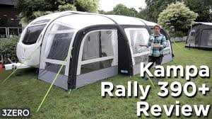 Kampa Caravan Awnings Kampa Rally Air 390 Caravan Awning Review Youtube