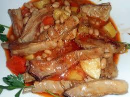 cuisiner haricots blancs secs recette de ragout d agneau aux haricots blancs et légumes