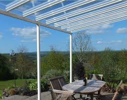 Yard Awning Clear As Glass Carport Patio Canopy Cover Lean To Awning Garden