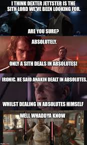 Mace Windu Meme - dexter jettster is the sith lord imgflip