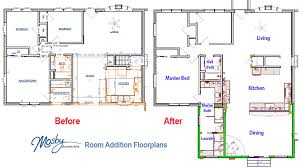 Room Addition Floor Plans Before U0026 After Remodeling A Crestwood Ranch Home Mosby Building