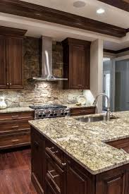 Dark Oak Kitchen Cabinets Home Design 1000 Ideas About Dark Wood Kitchens On Pinterest