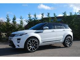 range rover evoque overfinch used land rover cars buy and sell