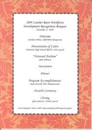 Banquet Program Templates Gala Dinner Invitation Letter Template Create Professional