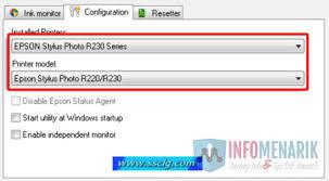 resetter epson r230 windows printer epson stylus photo r230x
