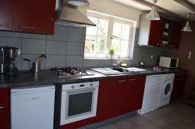 cuisine avec lave linge gîte n 46g12422 le petit rouby à rudelle dans le lot