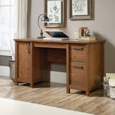 sauder bookcase cherry sauder carson forge desk washington cherry hayneedle