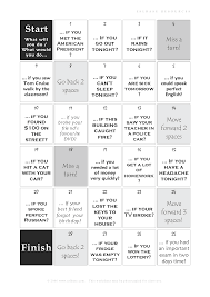 first and second conditional board game recipes to cook