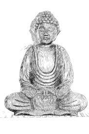 buddha sketch artwork free image peakpx