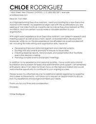 good cover letter for executive assistant to ceo 55 for online