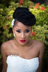 bridal hairstyle photos nigerian bridal natural hair and makeup shoot black bride