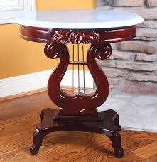 Harris Furniture Eva Patterson Harp Table I  EBTH - Harris furniture