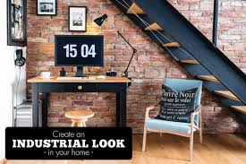 how to create an industrial look why not tiles