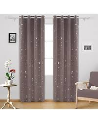 Light Silver Curtains Tis The Season For Savings On Deconovo Silver Dots Printed Thermal