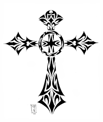 tribal cross by morobles on deviantart
