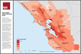 Hayward Fault Map Rms Loma Prieta