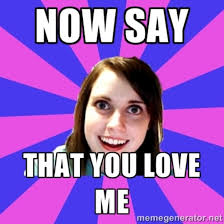 Girlfriend Meme Girl - overly attached girlfriend wedding google search oagf