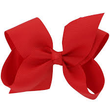 bow for hair chiffon 15 colors 6in large big grosgrain ribbon hair