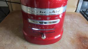 Kitchenaid Kettle And Toaster Kitchenaid Artisan Toaster 5kmt2204 Review Trusted Reviews