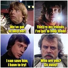 Luke Meme - the last jedi is not my luke spoiler sequelmemes