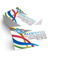 Full Color Business Card Printing Full Color Printing Buy 2x3 5 100lb Cover Uncoated Linen