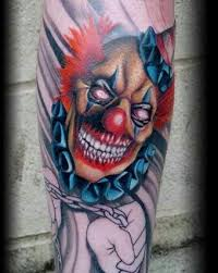 choking evil clown tattoo best tattoo ideas gallery
