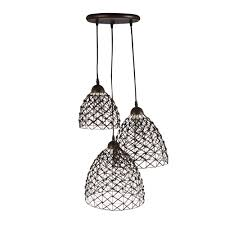 alinea luminaire cuisine suspension 3 lumières chocolat chocolat naty les suspensions