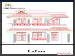 home plan and elevation 2430 sq ft kerala home design and floor