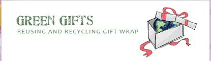 recyclable wrapping paper gift decorating reusing and recycling gift wrap