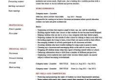 Special Education Resume Samples by Special Education Classroom Assistant Resume Teaching Assistant