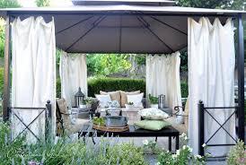 Diy Outdoor Living Spaces - creative ideas outdoor cabanas cute outdoor living rooms cabanas