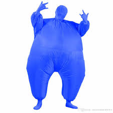 chub suit inflatable blow up color full body costume