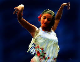 wallpapers dance flamenco dancer in white girls pictorial art