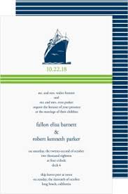 cruise wedding invitations shop cruise ship wedding invitations magnetstreet