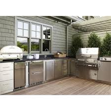 outdoor kitchen cabinet system from kalamazoo outdoor gourmet