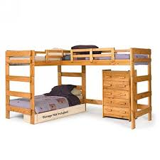 bedroom fabulous l shaped twin bunk beds diy corner bunk bed