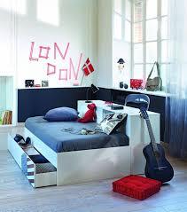 Chambre Ado Fille Avec Lit Mezzanine by Cuisine Lit Enfant Mezzanine Avec Bureau Lit D U0027appoint Chambre