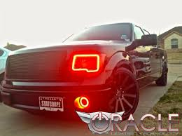 2012 ford f150 projector headlights oracle halo lights for ford f 150 2009 2014 ford f 150 color