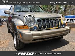 2006 used jeep liberty 4dr sport at triangle chrysler jeep dodge