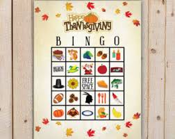 thanksgiving bingo cards printable thanksgiving