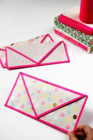 make it monday diy folded envelopes with washi tape trim